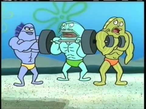 Spongebob squarepants im sexy and i know it