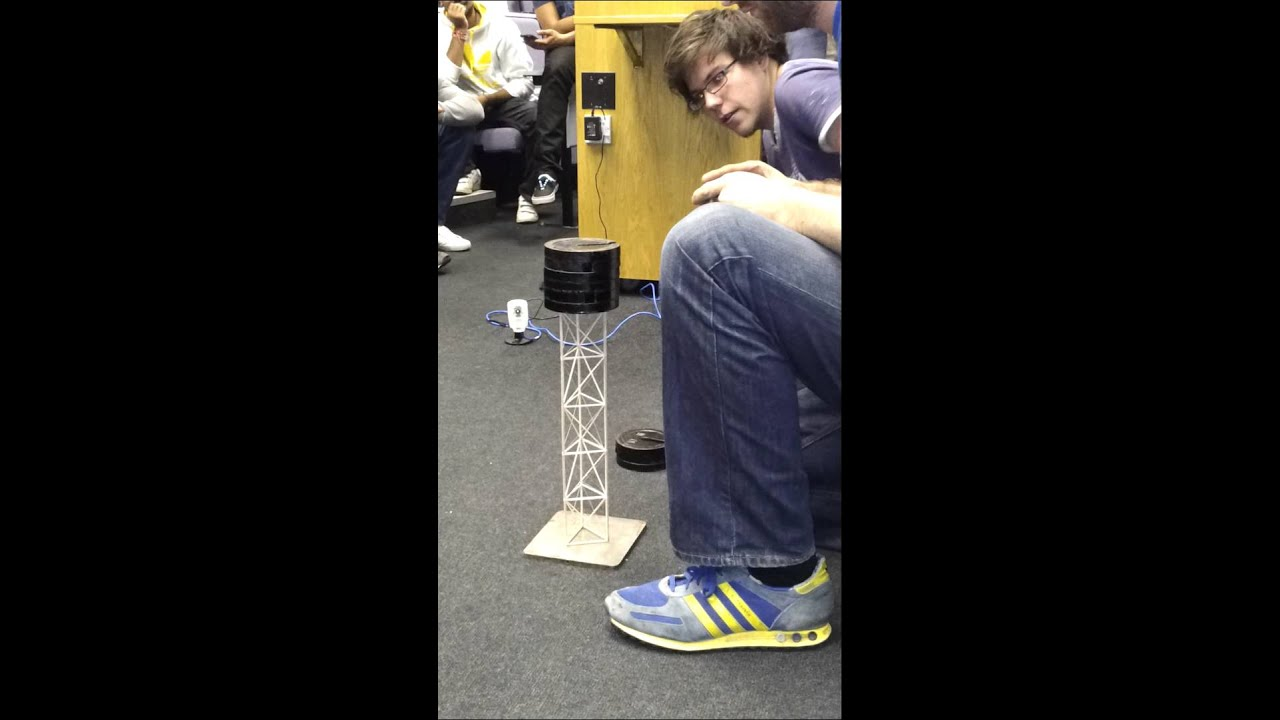 University Balsa Wood Tower Project Youtube