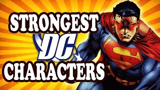Top 10 Physically Strongest DC Comic Book Characters — TopTenzNet