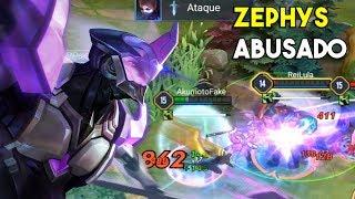 Zephys ABUSADO - Arena of Valor