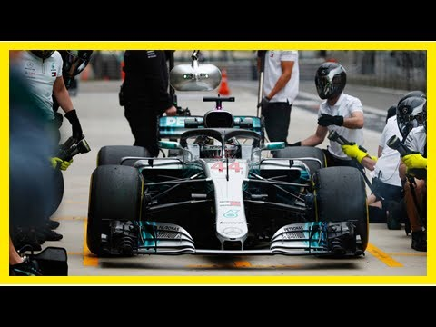 Breaking News | Practice times Lewis Hamilton sets the pace in F1 Chinese Grand Prix practice