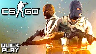 Playing Counter-Strike for the First Time in Years with Zanitor! CSGO! (Quick Play)