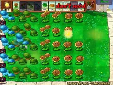 Plants vs. Zombies - Sunflower Tutotial xD