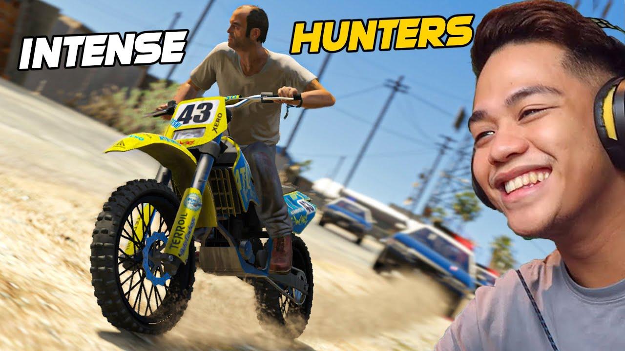 Download Bikers vs. 50 HUNTERS sa GTA 5!! (INTENSE CARCHASE)