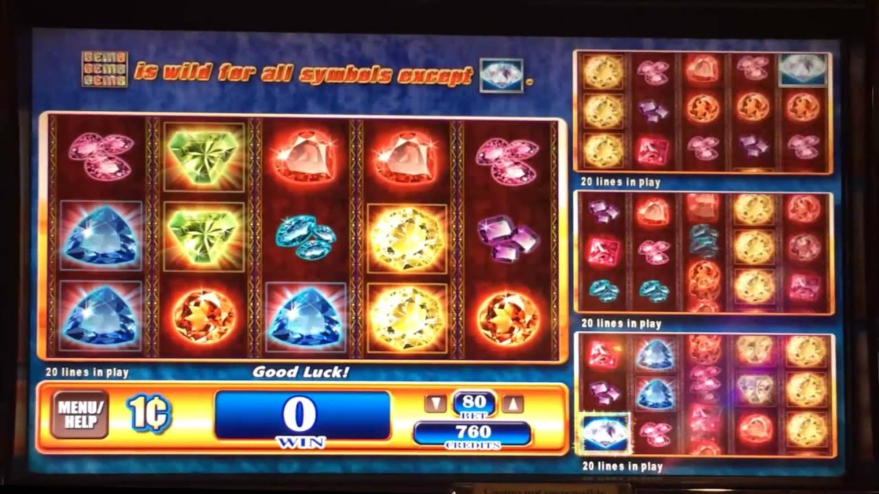 Gems Slot Machine