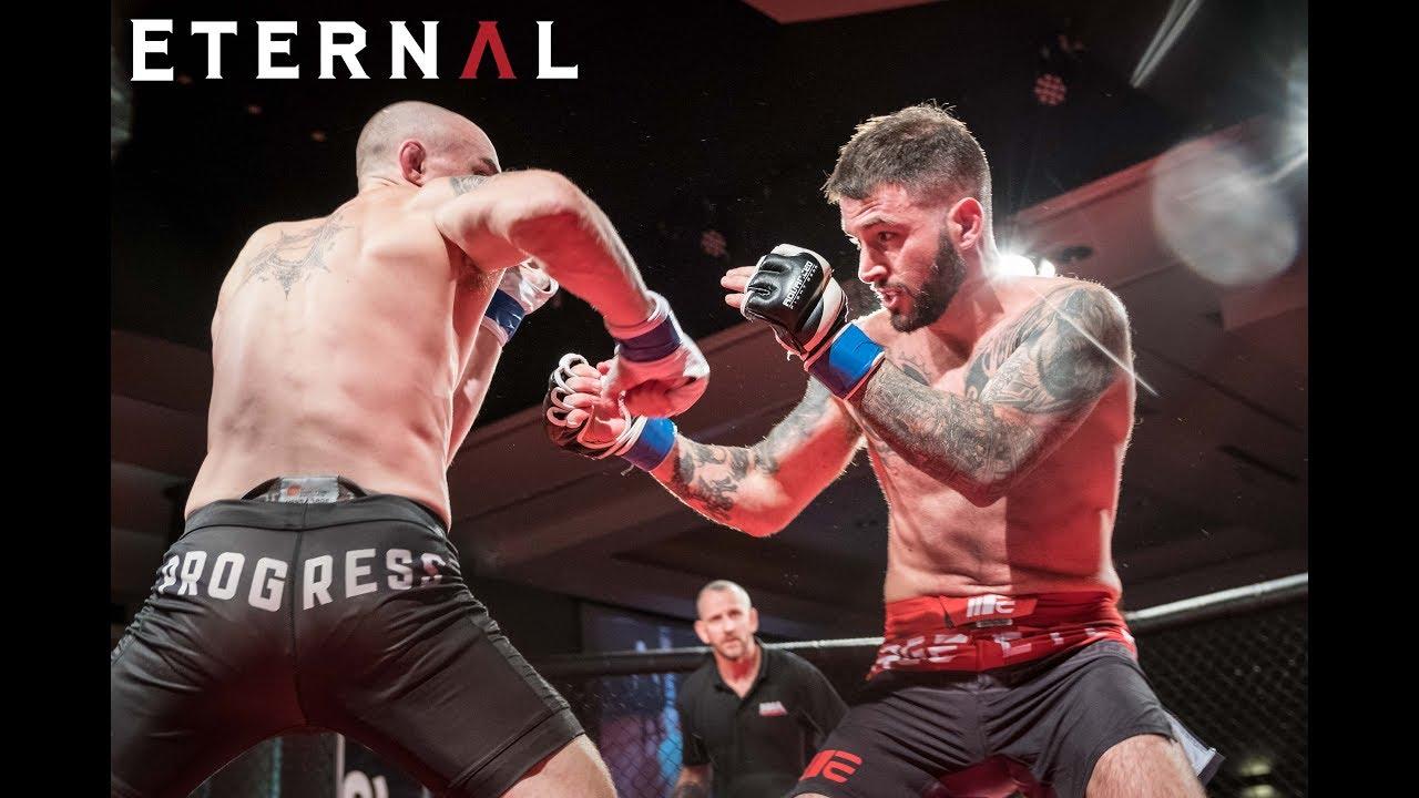 Adam Russo eternal mma 35 - ben royle vs adam russo - mma fight video