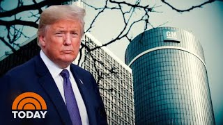 President Donald Trump Threatens To Cut General Motors Subsidies | TODAY