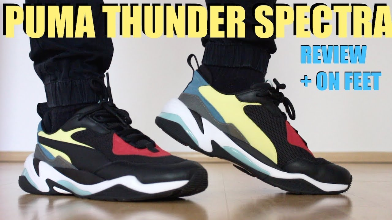 PUMA THUNDER SPECTRA REVIEW + ON FEET