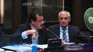 Defensa de Otto Pérez Molina pide la falta de merito por tres delitos contra su patrocinado