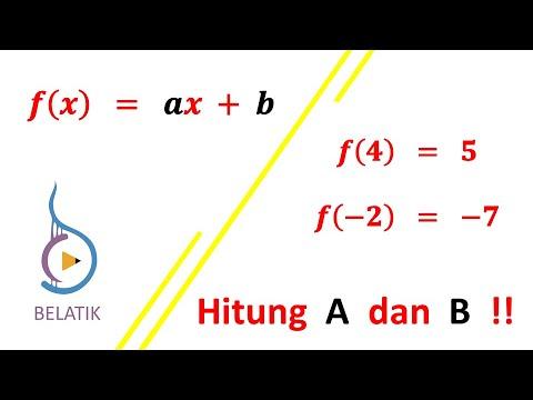 cara-menentukan-a-&-b-rummus-fungsi-f(x)-dengan-subtitusi-&-eliminasi-matematika-smp-sma-mts-ma-smk