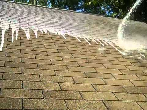 Non pressure roof cleaning youtube - Using water pressure roof cleaning ...