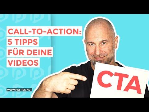 Call-to-Action: 5 Tipps für deine Video CTAs