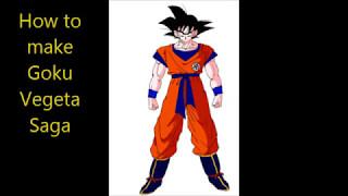 How to make Goku vegeta saga on DBZ Roblox online