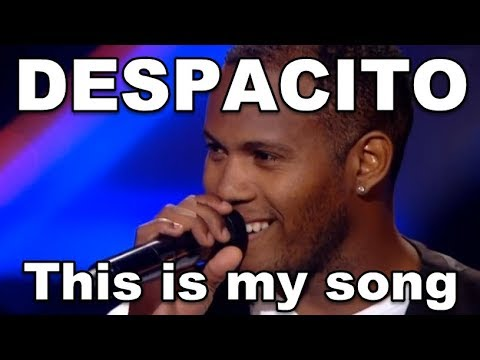 DESPACITO VOICE, DESPACITO X Factor MIND BLOWING FUN! Luis Fonsi  DESPACITO s,  Daddy Yankee