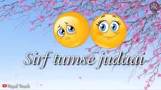 Maahi ve    sad song    whatsapp lyrics status   youtube