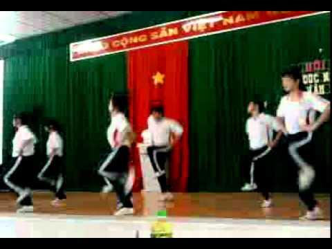 Thể dục nhịp điệu - 11T2 Phan Thanh Giàn ( Aerobics 11T2 Phan Thanh Gian )