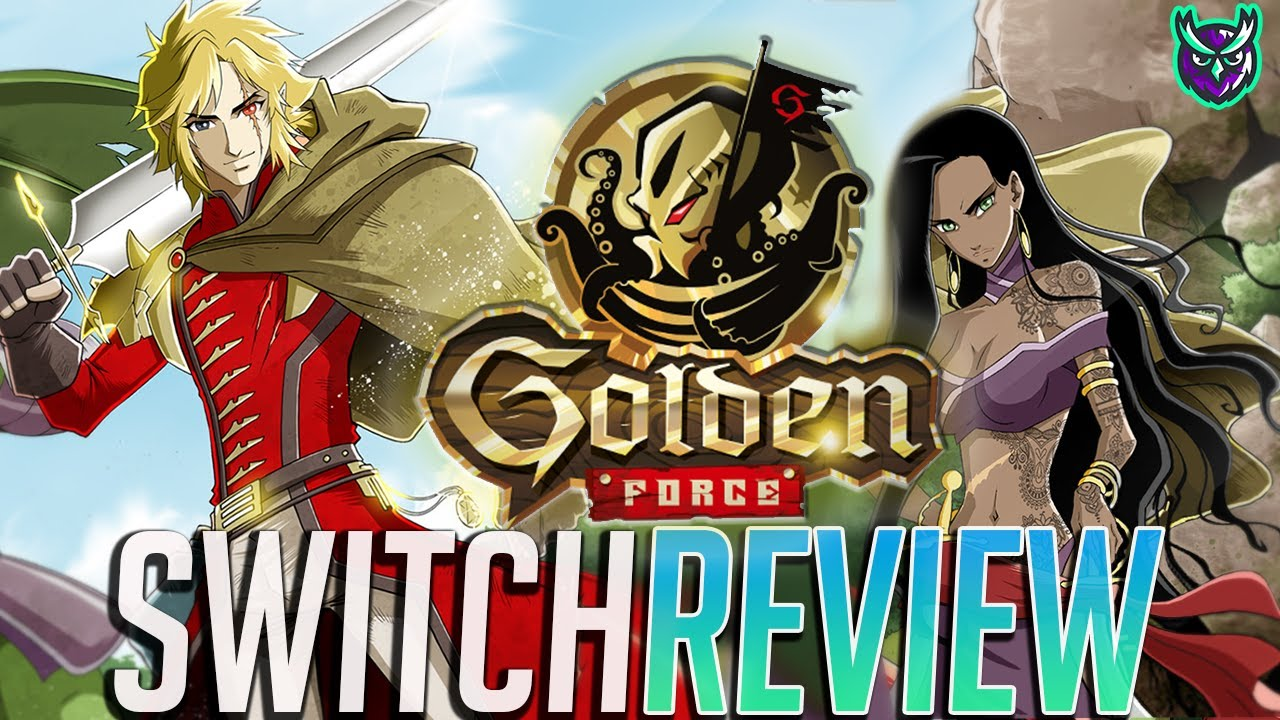 Golden Force Nintendo Switch Review - A Game With The Golden Touch? (Video Game Video Review)