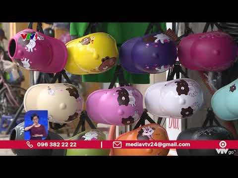 Liên tiếp bắt giữ mũ bảo hiểm giả, kém chất lượng | VTV24