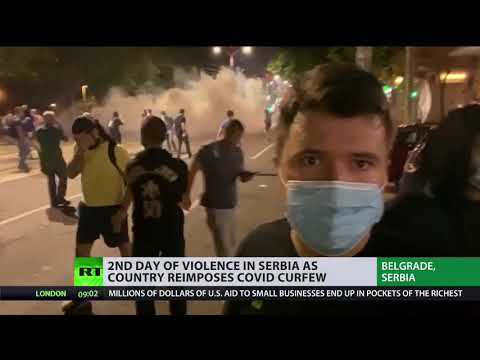 Belgrade Unrest | Serbian capital rocked by violent protests as country reimposes curfew