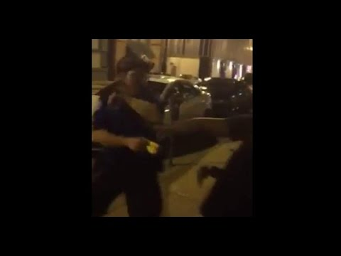"""Grab Anybody!"" St. Louis PD Indiscriminately Taser and Arrest People Walking Down Sidewalk"