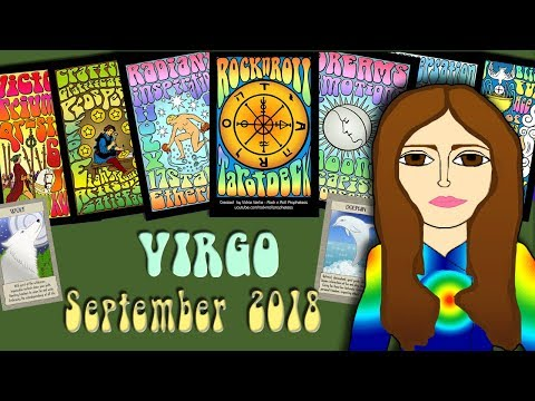 VIRGO SEPTEMBER 2018 Birthday Magic! Tarot psychic reading forecast predictions