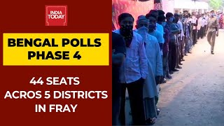 West Bengal Phase 4 Polls: 44 Seats Across 5 Districts In Fray