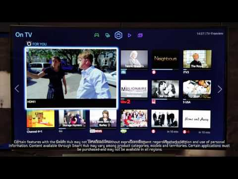 Samsung Smart TV | How To: make the most of the Samsung TV Smart Hub