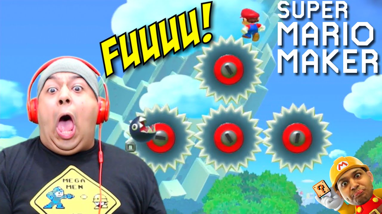 I can 39 t handle this sh t super mario maker 41 youtube for Be a maker