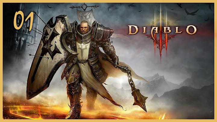 diablo 3 reaper of souls 01  akt 1krzyowiec live gameplay