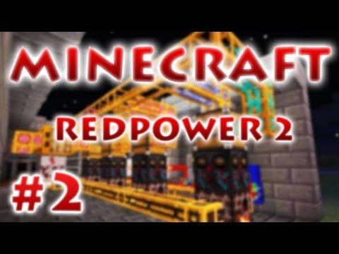 Red Power 2 - Провода и лампы.