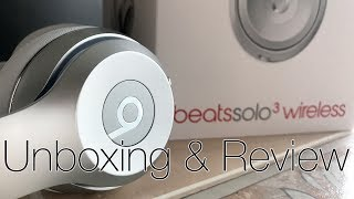 Beats Solo3 Wireless: Unboxing & Review