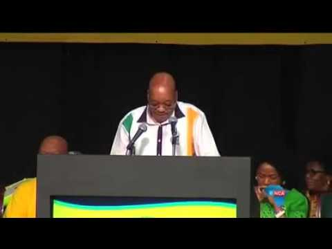 President of South Africa....