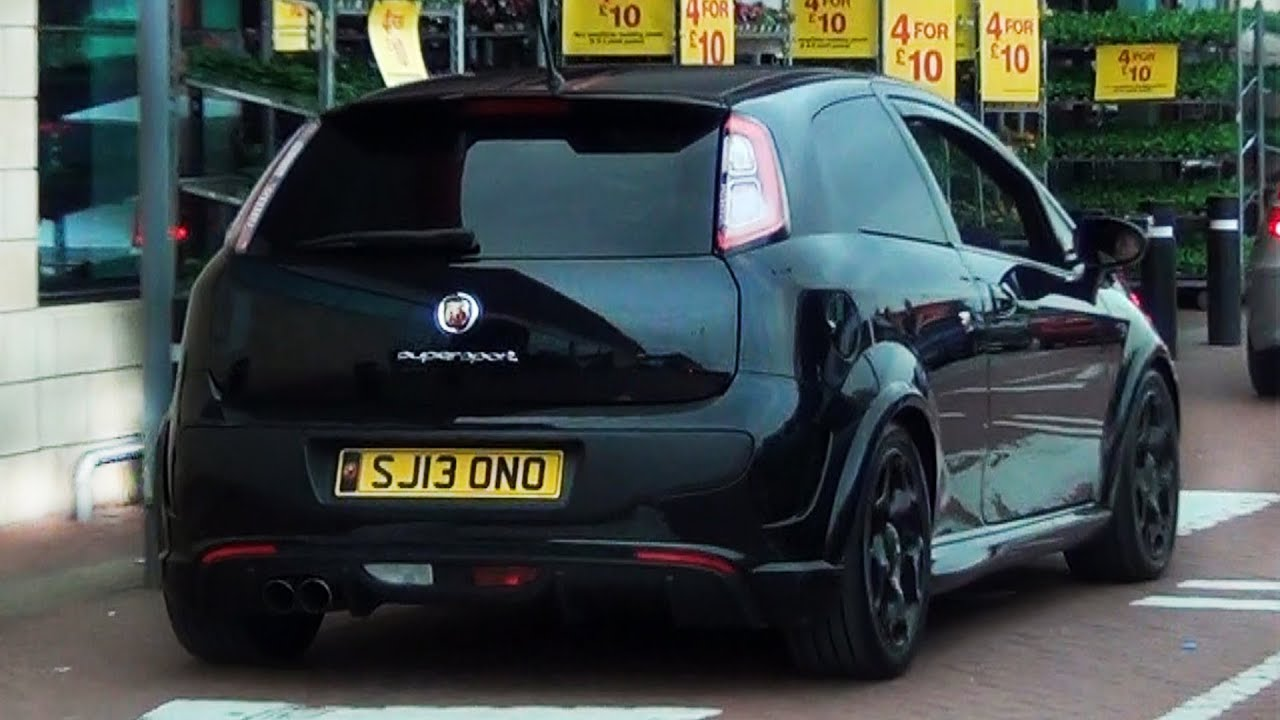 LOUD Abarth Punto Evo SuperSport Sound - YouTube