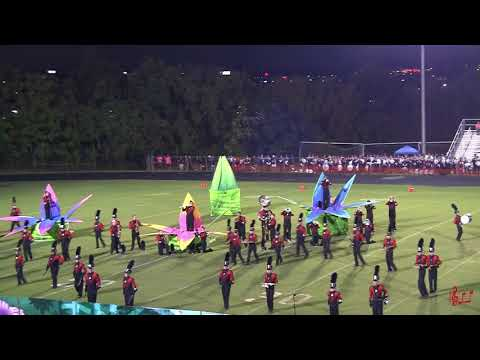 Northwest Guilford High School Marching Viking Band  9/23/2017