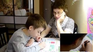 Обучение ребенка с особенностями развития... Русский язык 3 класс. Задание № 2.