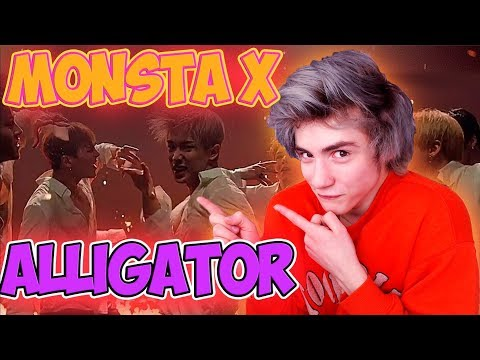 MONSTA X 몬스타엑스 'Alligator' MV Реакция | StarshipTV | Реакция на MONSTA X Alligator | Bodya K Pop