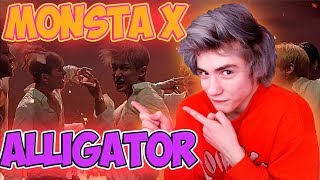 Baixar MONSTA X 몬스타엑스 'Alligator' MV Реакция | starshipTV | Реакция на MONSTA X Alligator | Bodya K pop
