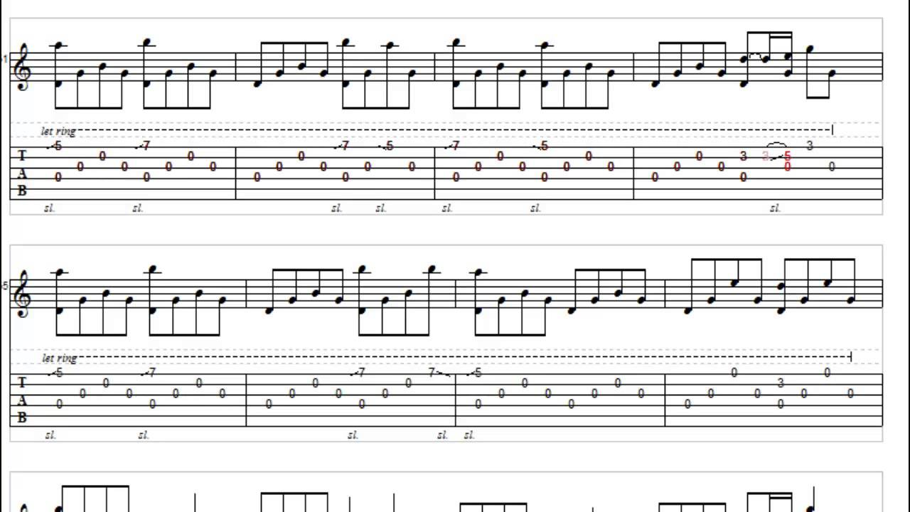 Take Me To Your Heart - Micheal Learns To Rock - Fingerstyle Guitar Tabs - YouTube