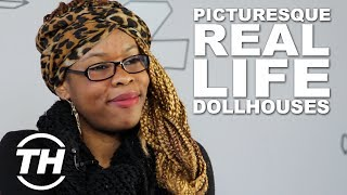 Picturesque Real Life Dollhouses - Malika Talked About The Amazing Barbie Dream House Dollhouse