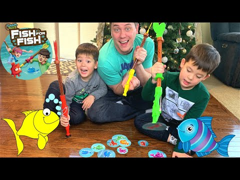 Fun Family Game Night With Survival Skillz Fish For Fish Game From Yulu
