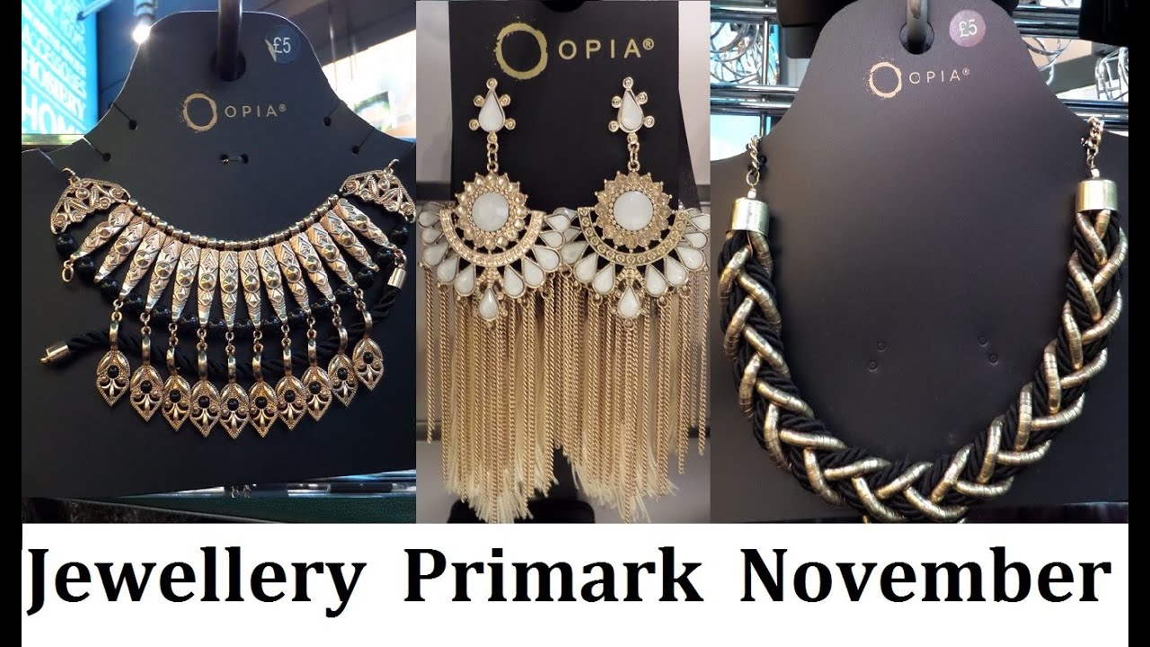 New Jewellery Accessories At Primark November 2017 Iloveprimark