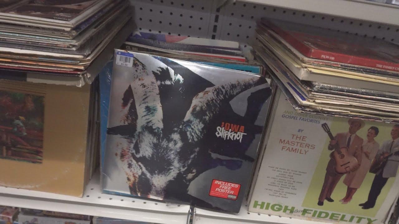 Follow to 5 Goodwill Thrifts - Slipknot Vinyl