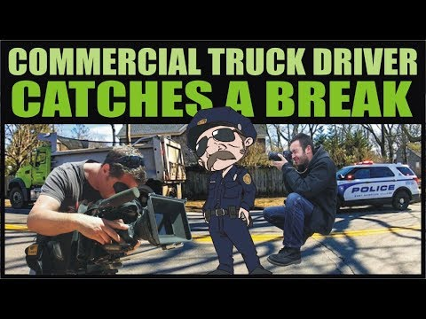 Audit 18: COMMERCIAL DRIVER CATCHES A BREAK - Cop Watch - East Hampton , NY