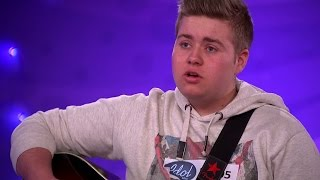 Epa-raggaren Erik Persson rör Fredrik Kempe till tårar i Idol 2016 - Idol Sverige (TV4)