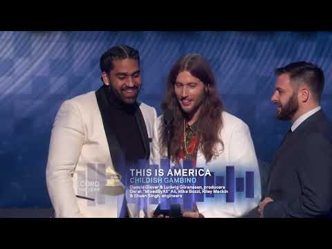 This Is America Wins Record Of The Year | 2019 GRAMMYs Acceptance Speech