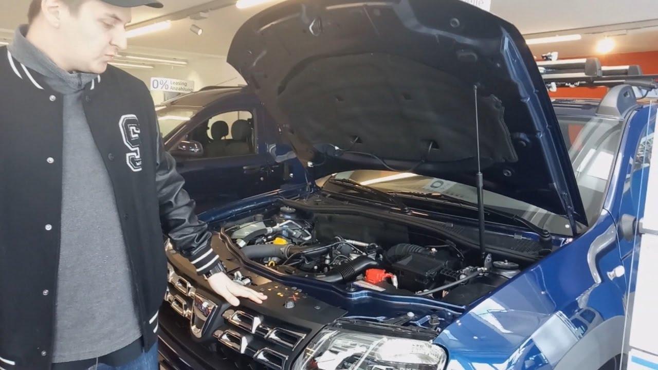 Обзор нового швейцарского Dacia Duster 2016 с турбиной на бензине. Отличия от Renault Duster.