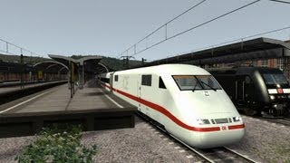Train Simulator 2013 RW4 Gameplay Hagen-Siegen ICE1 [Full HD]