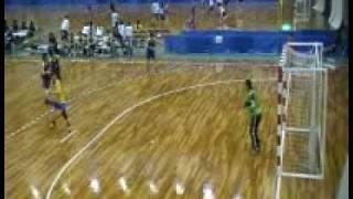 ハンドボール女子・西日本インカレ(福岡大学vs名古屋文理大学)