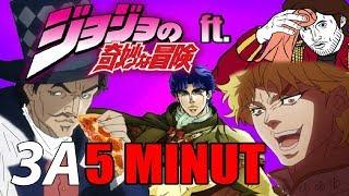 Jojo's Bizarre Adventure 1 сезон за 5 минут.............джо джо за 5 минут
