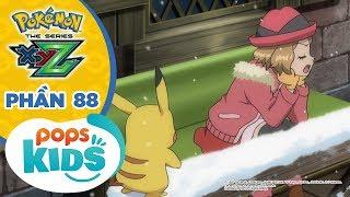 Hoạt Hình Pokémon S19 XYZ - Tổng Hợp Các Trận Chiến Pokémon Tại Giải Liên Đoàn KaLos Phần 88